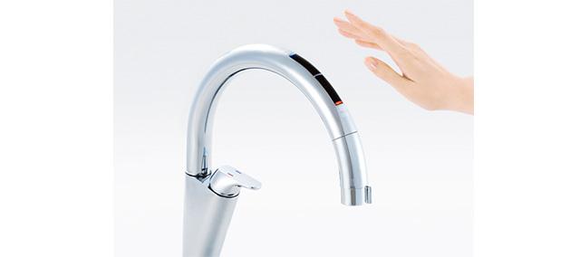 タッチレス水栓 リクシル