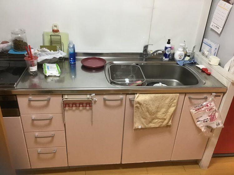 キッチン 工事前