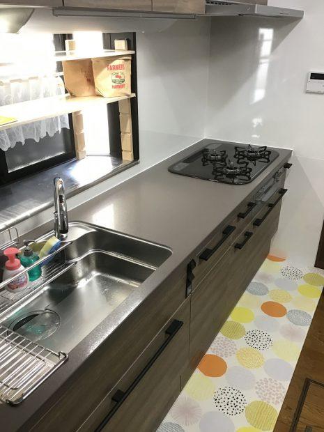 キッチン 工事後